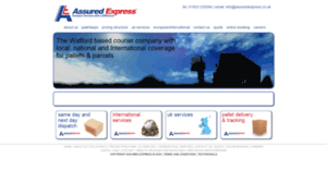 Assuredexpress.co.uk thumbnail