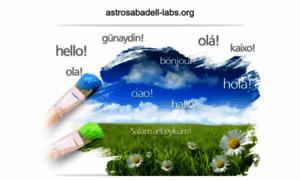 Astrosabadell-labs.org thumbnail
