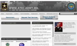 Atec.army.mil thumbnail