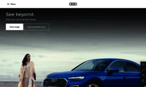 Audi.com.au thumbnail