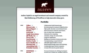 Audrey.co thumbnail