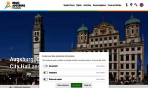 Augsburg-tourismus.de thumbnail