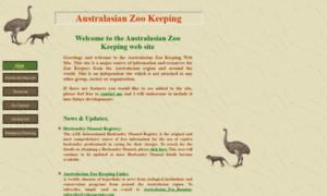 Australasianzookeeping.org thumbnail
