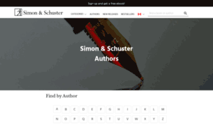 Authors.simonandschuster.ca thumbnail