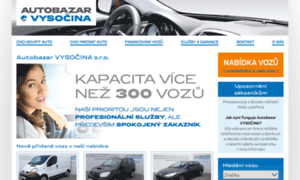 Autobazarvysocina.cz thumbnail