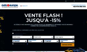 Autoeurope.fr thumbnail