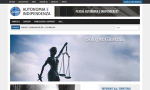 Autonomiaeindipendenza.it thumbnail