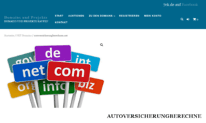 Autoversicherungberechnen.net thumbnail
