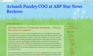 Avinashpandeystarnewsreviews.blogspot.in thumbnail