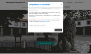 Ayuntamientodeguadarrama.es thumbnail