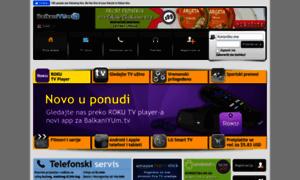 balkaniyum.tv - TV kanali uživo iz Srbije, Bosne i Hercegovine, Hrvatske. Prenosi sportskih događaja. Telefonski servis - BalkaniYUm.TV