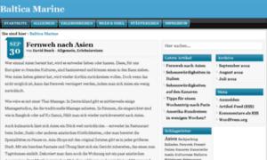Baltica-marine.de thumbnail