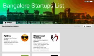 Bangalore.startups-list.com thumbnail