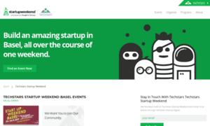 Basel.startupweekend.org thumbnail