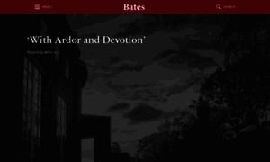 Bates.edu thumbnail