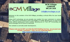 Bcmvillage.co.uk thumbnail
