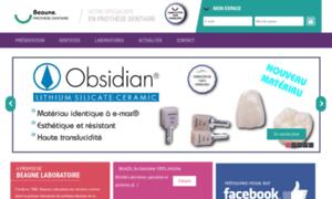 Beaunelaboratoire.fr thumbnail