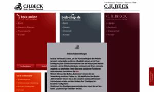 Beck.de thumbnail