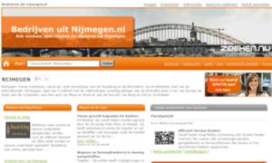 Bedrijvenuitnijmegen.nl thumbnail