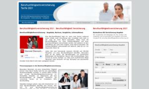 Berufsunfaehigkeits-versicherung.biz thumbnail