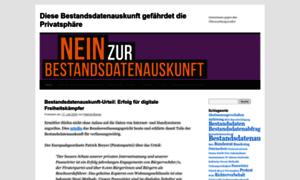 Bestandsdatenauskunft.de thumbnail