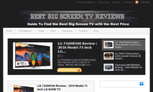 Bestbigscreentvreviews.com thumbnail