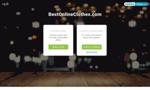 Bestonlineclothes.com thumbnail