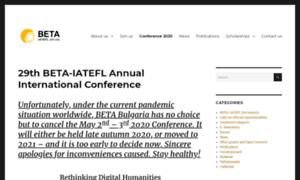 Beta-iatefl.org thumbnail
