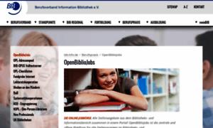 Bibliojobs.de thumbnail