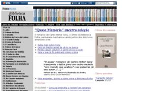 Biblioteca.folha.com.br thumbnail