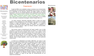 Bicentenarios.es thumbnail