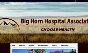Bighornhospital.org thumbnail