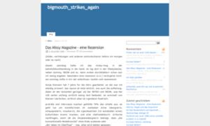 Bigmouth.blogsport.de thumbnail