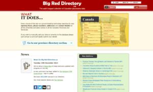 Bigreddirectory.ca thumbnail