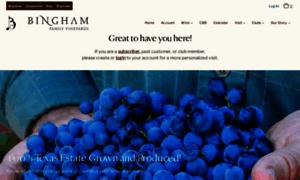 Binghamfamilyvineyard.com thumbnail