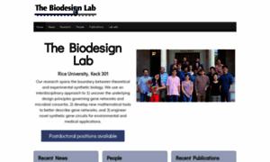 Biodesign.rice.edu thumbnail