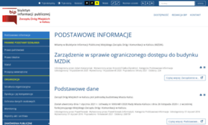 Bip.mzdik.kalisz.pl thumbnail