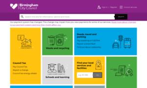 Birmingham.gov.uk thumbnail