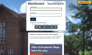 Blackboard.soton.ac.uk thumbnail