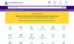 Blackburn.gov.uk thumbnail