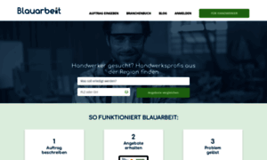 Blauarbeit.de thumbnail