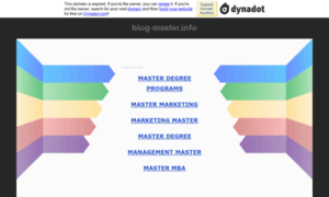 Blog-master.info thumbnail