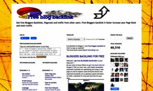 Bloggersbacklinks.blogspot.com thumbnail