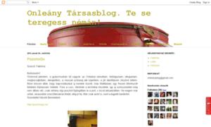 Blogleany.blogspot.hu thumbnail
