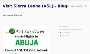 Blogs.visitsierraleone.org thumbnail