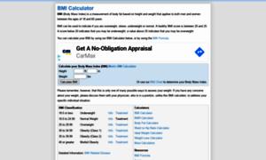 Bmi-calculator.net thumbnail