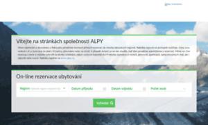 Booking.alpy.cz thumbnail