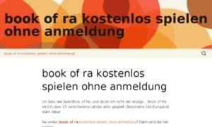 Bookofrakostenlosspielenohneanmeldung.wordpress.com thumbnail
