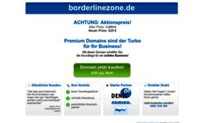 Borderlinezone.de thumbnail