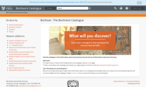 Borthcat.york.ac.uk thumbnail